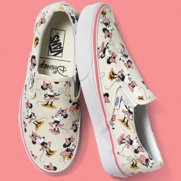 Minnie Mouse Disney Vans. M 5b2d099ef63eea5a277d48f6. Other Shoes ... cdf3213ad